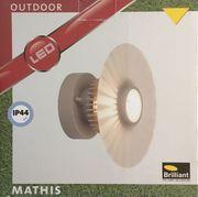 Brilliant Mathis G96250 22 Außenwandleuchte
