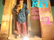 11 frühe Vinyl-LP s - Liedermacher