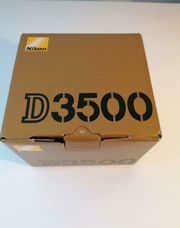 Nikon D3500 WIE NEU