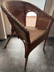 Verkaufe eine IKEA Rattan Sessel