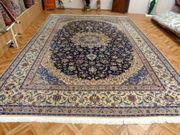 Orientteppich Handgeknüpfter Teppich mit Seide