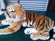 NEU großer Plüschtiger Riesen-Tiger Stofftiger