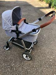 Osann Pep Kinderwagen grau braun