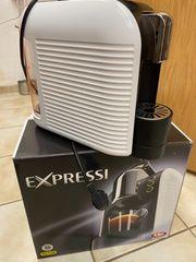 Expressi Kapselkaffeeautomat maschine weiss