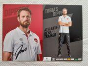 Autogrammkarte Tobias Dippert Athletik- und