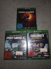 3 Xbox Spiele noch verschweißt