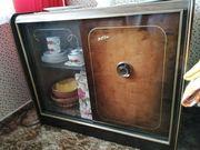 KUBA Tonmöbel Phonoschrank mit Glasvitrine