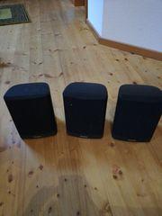 3 Panasonic Lautsprecher für Fernseher