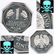 Silbermark-40 Jahre deutsche Mark Sonderprägung