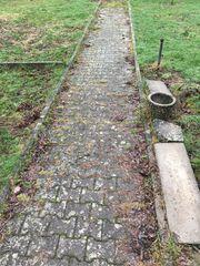 H-Steine Terrasse Garten Pflastersteine Hof