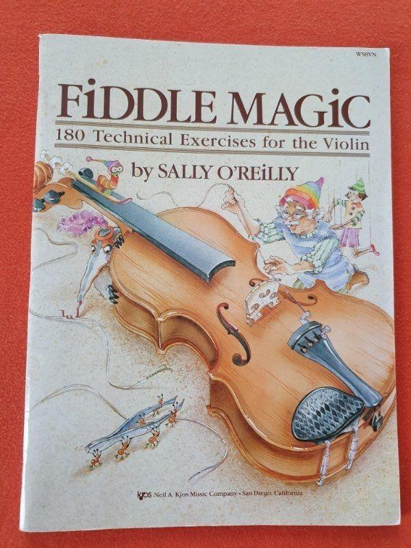 Fiddle Magic 180 Technical Exercises