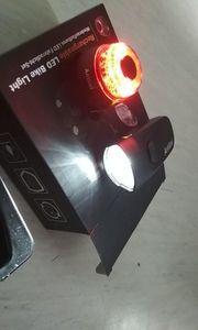 Neu Rechargeable Fahrrad lichte