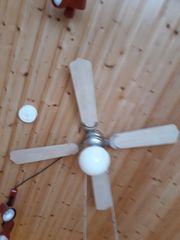 Ventilator mit Lampe