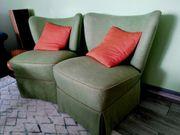 Sessel Vintage grün Coctailsessel