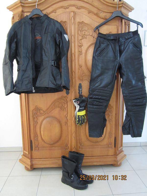 Motorrad Ledercombi