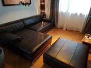 Couch Leder braun
