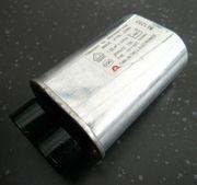 Hochspannungskondensator für Mikrowelle