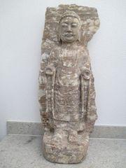 Stehende Buddha-Statue Herkunft Nord-China vermutlich