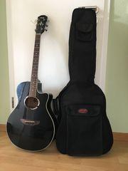 Elektro-Akustikgitarre Yamaha APX500 BL und