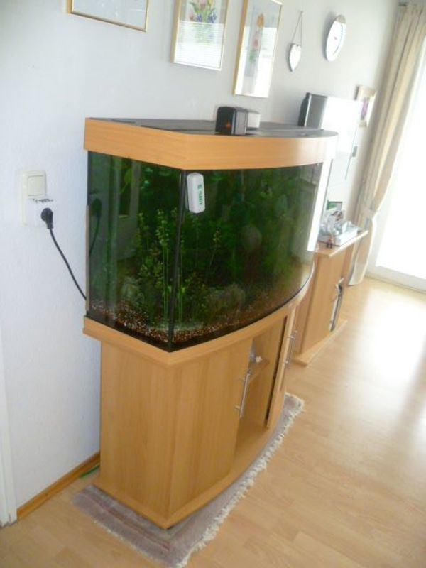 Aquarium mit Unterschrank in München - Fische, Aquaristik kaufen und ...