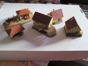 Konvolut Häuser kleinere und größere