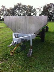 Maischewagen V2a 5000 ltr