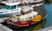 Segelboot Plattbodenboot Kajütsegelboot