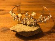 Hochzeit Diadem Perlen