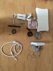 Wii RVL-001 mit Zubehör