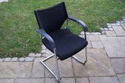 Wilkhahn Konferenzstuhl schwarz Bürostuhl Sessel