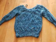 Pullover türkis gebraucht Gr 34