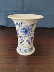 Meißner Meissener Porzellan Vase Zwiebelmuster