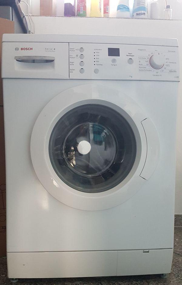 Bosch Waschmaschiene Serie 4 Vario