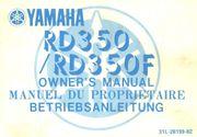 Bedienungsanleitung Yamaha RD