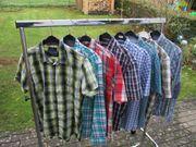 7 Herren-Hemden Freizeithemden Gr M