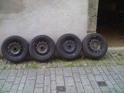 4 Original BMW Stahlfelgen 6