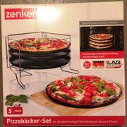 Pizzabackbleche Backbleche ZENKER Pizzabackset für