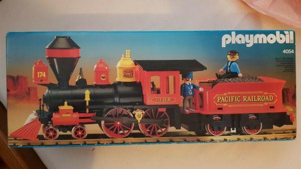 Playmobil Western Eisenbahn Lok 4054