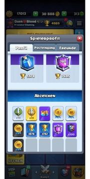 Clash Royale Account fast maxed