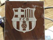FC Barcelona Spiegel Deko
