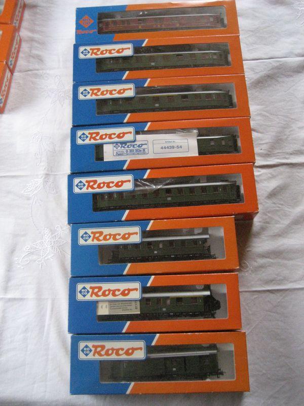 11 Stück Roco HO Eisenbahn