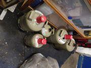 Campinggasflaschen-5 Stück-11KG 5KG-alle LEER