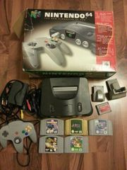 N64 Set mit Originalverpackung