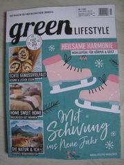 Brandneu ungelesen Magazin green LIFESTYLE