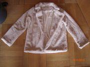 Kunstfell Bolerojäckchen Jacke leicht und