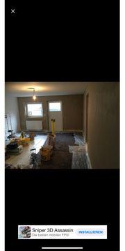 Renovierung Gipser und maler
