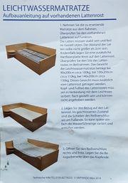 Leicht-Softside wasserbett 90x200