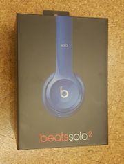 wie NEU Beats Solo2 blau