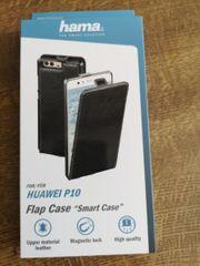 Huawei P10 Flip Case Echtleder