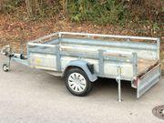 Pkw Anhänger 1200kg mit Flach